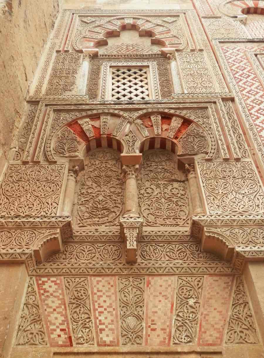 detalle fachada mezquita catedral cordoba