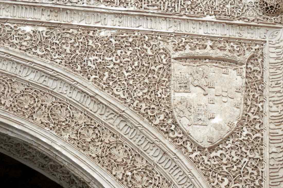 grabados puerta del perdon mezquita catedral cordoba