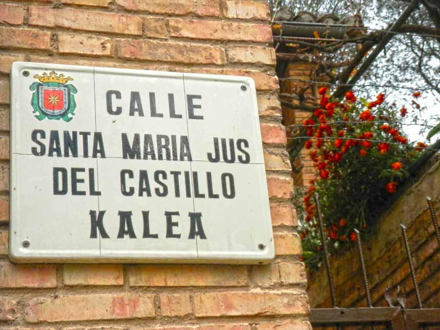 calle-santa-maria-jus-castillo-estella-navarra