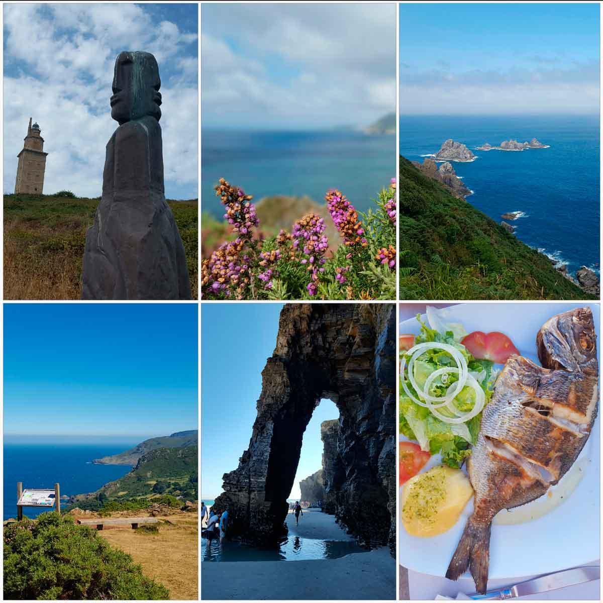 una semana de vacaciones en asturias y galicia por la costa