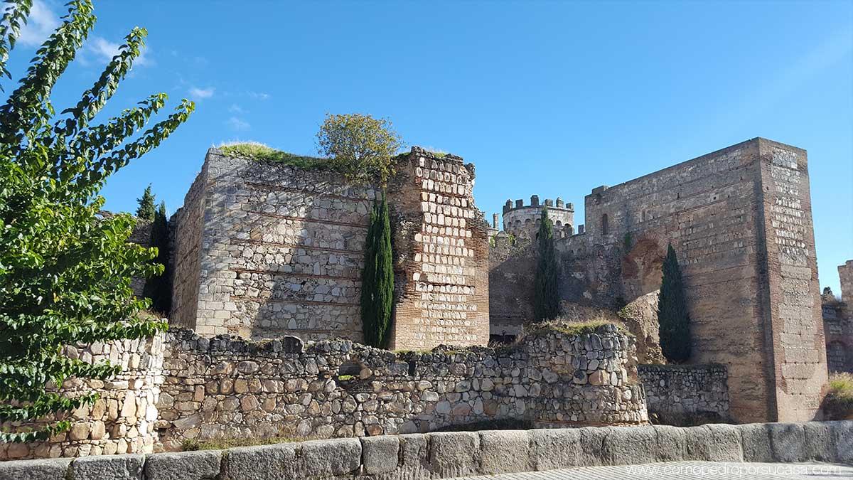 castillo de escalona desde el parque